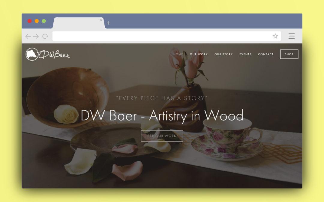 DW Baer Squarespace Site
