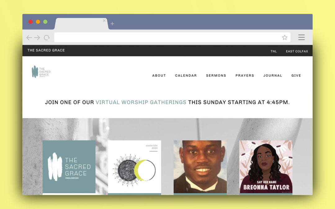 The Sacred Grace Englewood WordPress Site